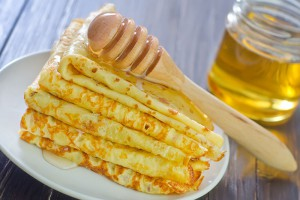 Crepes-con-miel(pancakes-with-honey)