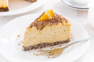 Tarta-de-Queso-y-naranja-con-chocolate