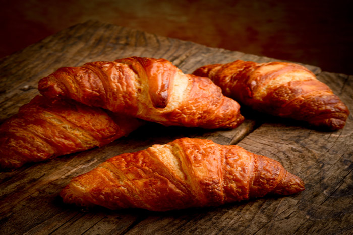 Receta de Croissants caseros , deliciosos para el desayuno con un buen ...