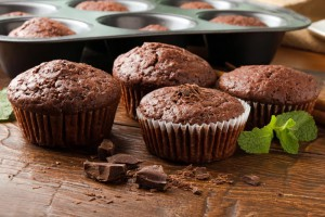 Muffin-de-Chocolate