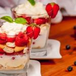 Trifle de Frutas del Bosque