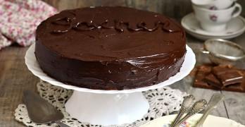 Tarta Sacher ( Sacher-Torte )